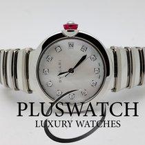 Bulgari Lucea Automatic 33mm Ladies Watch 102199 LU33WSSD/11 RO