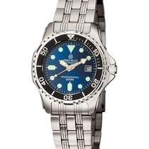 Deep Blue Sea Princess  Ladies Watch 200m Wr 34mm Ss Case/brac...