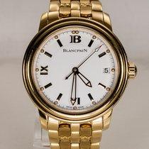 Blancpain Leman 2100 mit Blancpain Goldband