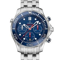 Omega Seamaster Diver 300M Co-Axial Chronograph 44 MM Blue