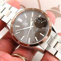TAG Heuer WV211N Carrera Calibre 5 Stainless Steel Automatic...