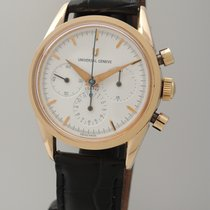 Universal Genève Compax 1950 Chronograph -Rotgold 18k