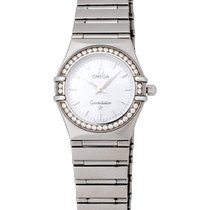 Omega Constellation 95 Diamond Quartz Ladies Watch – 1458.75.00