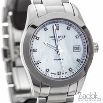 Longines Conquest Classic Stainless Steel 29.5mm Women's Watch...