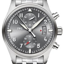 IWC Pilot's Watch Spitfire Chronograph IW387804 Grey Dial...