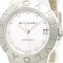Bulgari Polished  Diagono Sport Diamond Mop Dial Ladies Watch...
