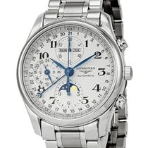 Longines Master Complications Moonphase Automatic Mens Watch...