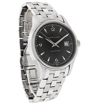 Hamilton Jazzmaster Mens Black Dial Swiss Automatic Watch...