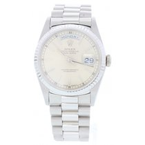 Rolex Oyster Perpetual Day-Date 18239 18k WG Presidential