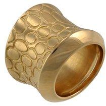 Pomellato Cocco Yellow Gold Ring A.A404