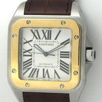 Cartier Santos 100 XL 18K Gold