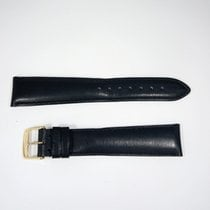 Longines Leather Strap  20/16 Black