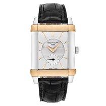 Patek Philippe 5111PR Gondolo Platinum / Rose Gold Leather Strap