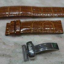 Van Der Bauwede leather strap brown mm20 with original steel...