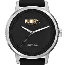 Puma PU104101002 Suede Herrenuhr 46mm 10ATM