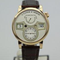 A. Lange & Söhne 18k Rose Gold Zeitwork 140.032 Calibre...