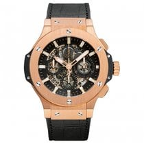 Hublot Big Bang 44mm Aero Automatic Chronoscaph with Date Mens...