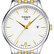 Tissot T-classic White Dial Two Tone Stainless Steel Men's...