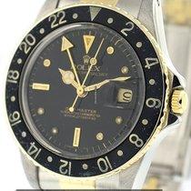 Rolex GMT-Master 2Tone Black Nipple Dial Ref. 16753