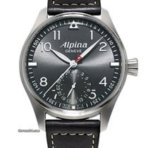 Alpina STARTIMER PILOT MANUFACTURE - 100 % NEW - FREE SHIPPING