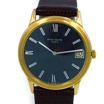 Patek Philippe Automatic 18k Yellow Gold Watch W/ Date