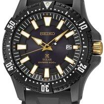 Seiko SNE373P1 Prospex Solar Diver schwarz gold 44mm 200M