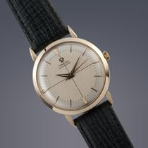 Omega 9ct yellow gold automatic watch