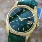 Rolex Vintage Mens Ref 1503 Automatic 18k Solid Gold Luxury...