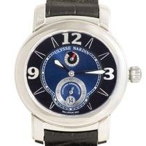Ulysse Nardin Macho Palladium 950 — Blue/Black Dial on Strap