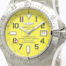 Breitling Polished Breitling Avenger Seawolf Steel Automatic...