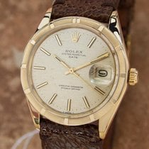 Rolex Oyster Perpetual 1501 Date 14k Gold 1970 Automatic...