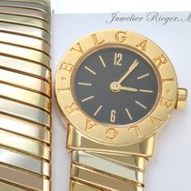 Bulgari Tubogas Lady Gelbgold Rotgold Weissgold 750 BB 19 1T...