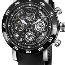 Chronoswiss CH9043S-BK Timemaster Chronograph 44mm in Steel...