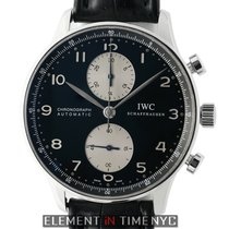 IWC Portuguese Collection Chronograph Stainless Steel 41mm...