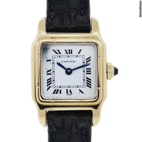 Cartier Gold Panthere Watch Cartier Panther 18k Gold Watch