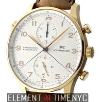 IWC Portuguese Collection Split Second Chronograph 18k Rose...