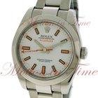 Rolex Milgauss, White Dial - Stainless Steel on Bracelet