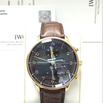 IWC Portuguese Chronograph IW3714-15 Rose gold B&P 12-2010