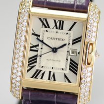 Cartier- Tank Anglaise Großes Modell, Ref. WT100017