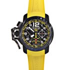 Graham Chronofighter Oversize Superlight Carbon Yellow...