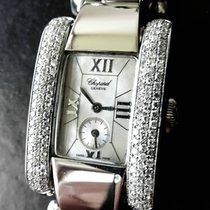 Chopard La Strada 134 Brillanten Stahl Luxus Ledies Armbanduhr