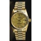 Rolex Midsize (31mm) 18K Yellow Gold President Model 68278...