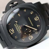 Panerai LUMINOR GMT 1950 3 DAYS ALL BLACK CERAMIC PAM438