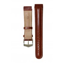 Swiss Made Brown Leather Strap