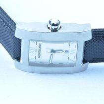 Montblanc Profile Herren Uhr Stahl/stahl Quartz Grosse Version...