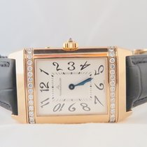 Jaeger-LeCoultre Reverso 18k Pink Gold Duetto Diamonds UNWORN...