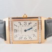 Jaeger-LeCoultre Reverso 18k Pink Gold Duetto Original Diamond...
