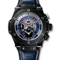 Hublot Big Bang Skeleton Ceramic Rubber Men`s Watch