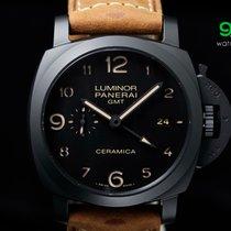 Panerai Pam 441 Luminor 3-days Gmt Black Ceramic 1950 44mm