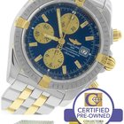 Breitling Chronomat Evolution Chronograph Two-Tone B13356 44mm...